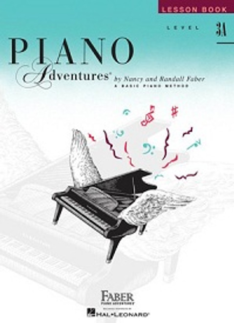 Piano Adventures Level 3A - Lesson Book Only