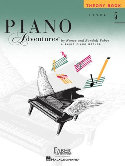 Piano Adventures Level 5 - Theory Book Only