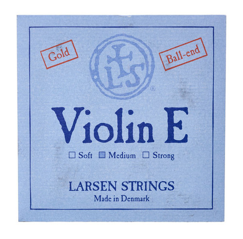 4/4 Larsen Violin E string Gold-plated (Ball End)