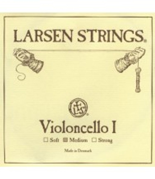 """A"" Larsen Cello String 4/4 (single) Standard Medium"
