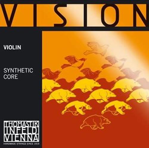 4/4 Vision Violin Violin E String (Ball End)