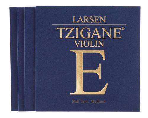 Tzigane Violin Strings by Larsen Set 4/4 (Medium tension)