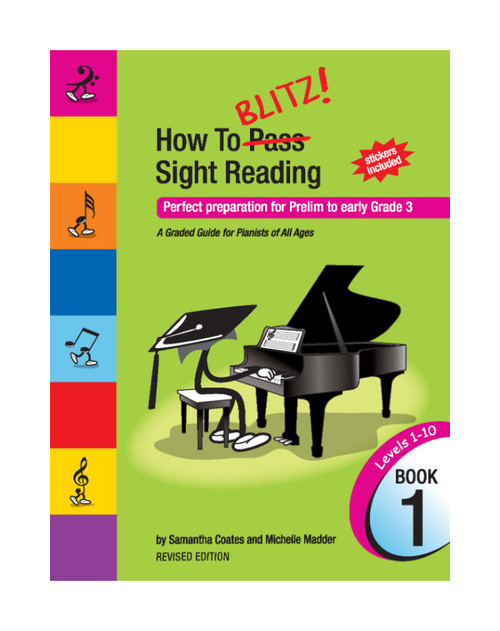 How to Blitz Sight Reading Book 1 (Prelim-Gr 3)
