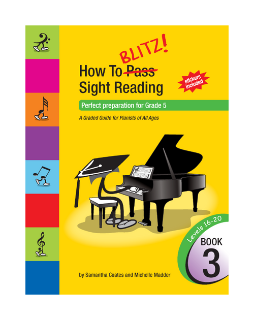 How to Blitz Sight Reading Book 3 (Gr 5)