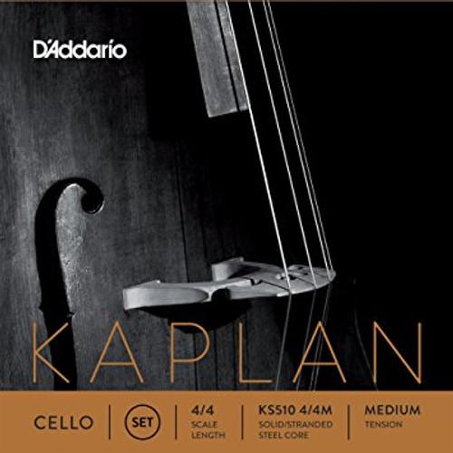 Kaplan Cello String Set - Medium Tension - 4/4