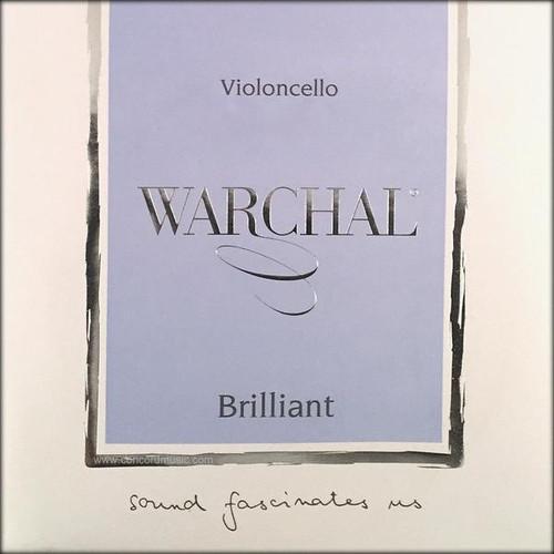 Warchal Brilliant Cello String Set - 4/4