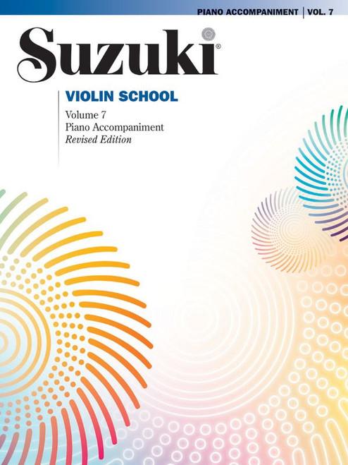 Suzuki Violin School Volume 7 Piano Accompaniment
