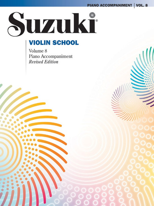 Suzuki Violin School Volume 8 Piano Accompaniment