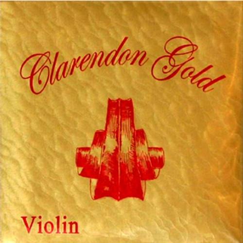 Clarendon Gold Violin Strings Set 4/4