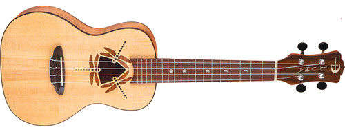 Luna Dragonfly Concert Ukulele Spruce with Gig Bag