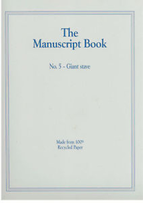The Manuscript Book - Made from 100% Recycled Paper
