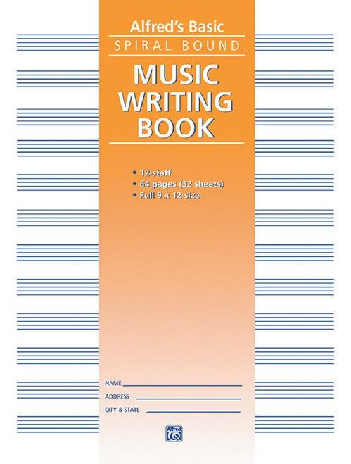 Alfred's Basic Music Writing Book