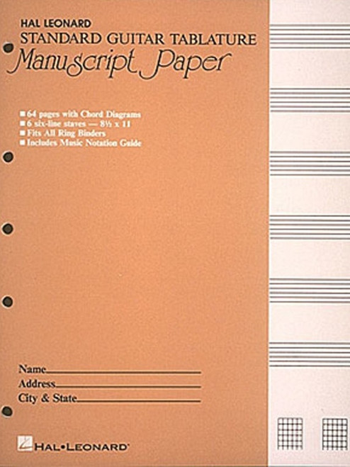 Hal Leonard Guitar Tablature