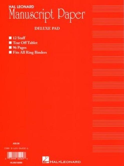 Hal Leonard Deluxe Manuscript Pad