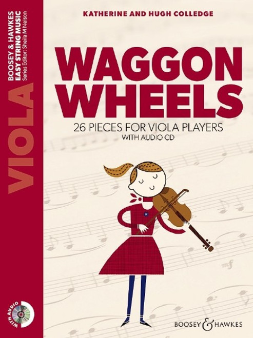 Waggon Wheels Viola with Audio CD (Ed: Sheila Nelson)