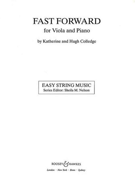 Fast Forward for Viola Part Only (Ed. Sheila Nelson)