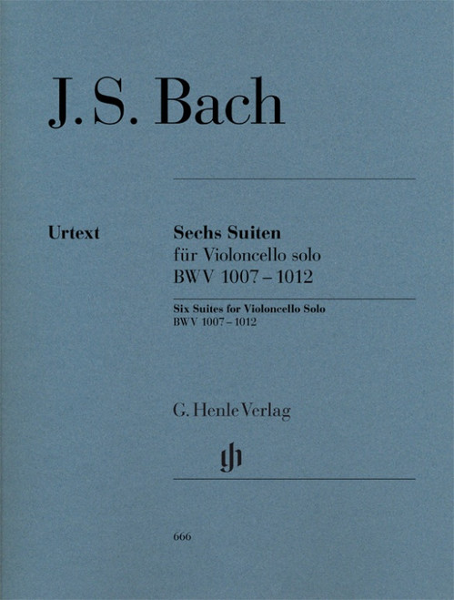 Bach 6 Suites for Cello (Henle)