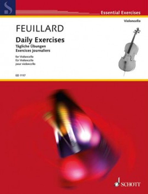Feuillard, L. R.: Daily Exercises for Violoncello