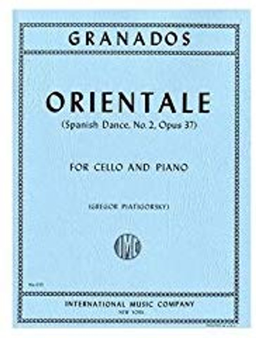 Granados Orientale (Spanish Dance, No. 2, Op. 37)