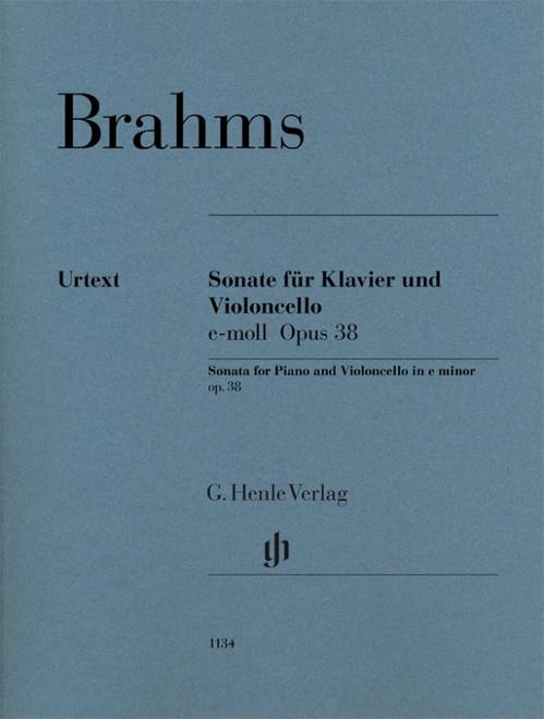 Brahms Cello Sonata Op. 38 No. 1 in E minor