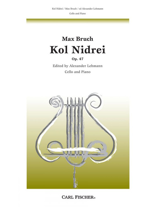 Bruch Kol Nidrei Op. 47 for Cello and Piano