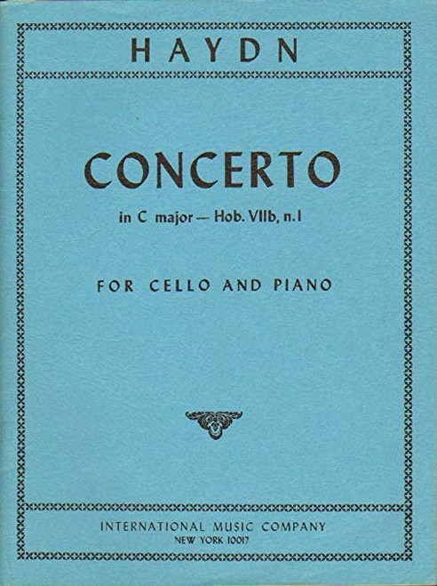 Haydn Cello Concerto in C major, Hob. VII, n. 1 for Cello and Piano