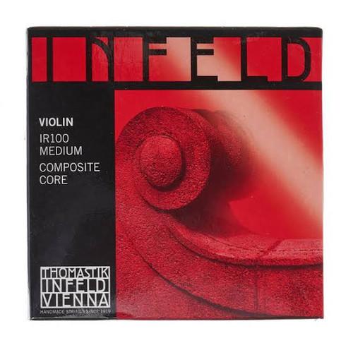 Peter Infeld Red Violin Strings Set 4/4