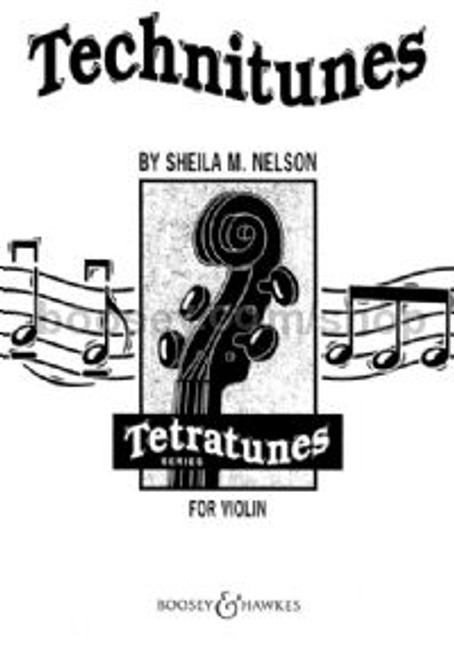 Nelson, Sheila: Technitunes for Cello