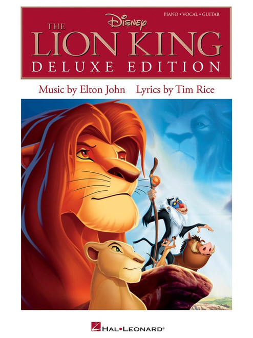 The Lion King (Deluxe Edition) for Piano/Vocals/Guitar
