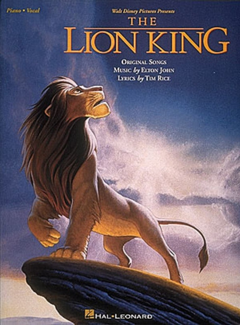 The Lion King for Vocals/Piano