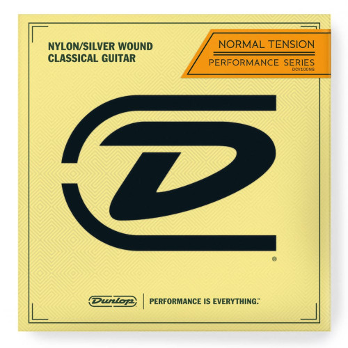 Jim Dunlop Classical Nylon Guitar Strings (Set) - Performance Series