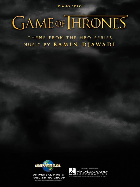 Games of Thrones Theme for Piano Solo