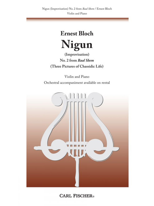 Bloch, Ernest: Nigun for Violin & Piano