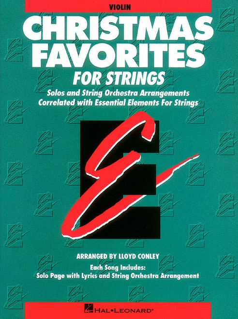 Christmas Favorites for Strings (Violin part)