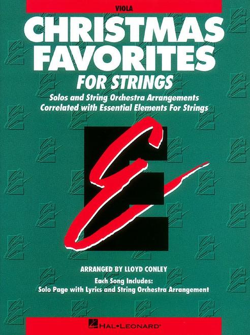 Christmas Favorites for Strings (Viola part)