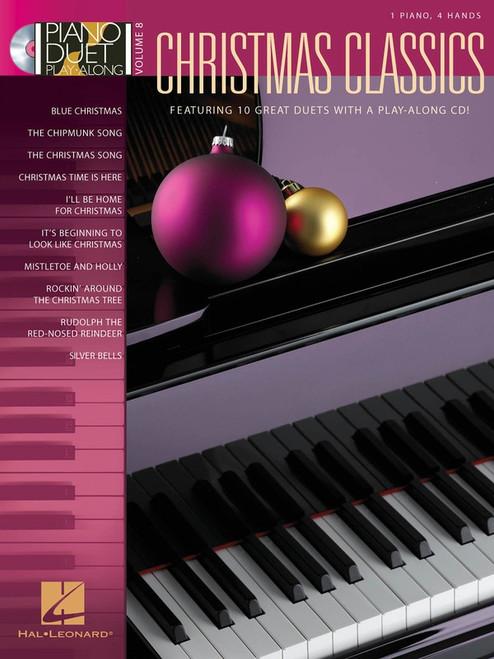 Piano Duet Play-Along Volume 8: Christmas Classics
