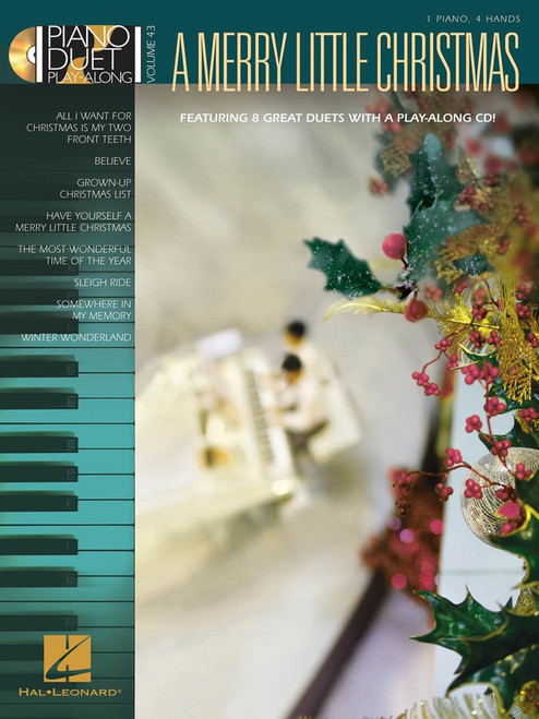 Piano Duet Play-Along Volume 43: A Merry Little Christmas