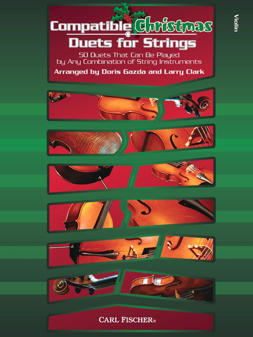 Compatible Christmas Duets for Strings (Violin part)