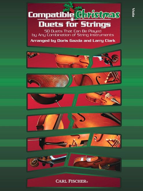 Compatible Christmas Duets for Strings (Viola part)