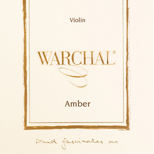 4/4 Warchal Amber Violin E String (Ball End)