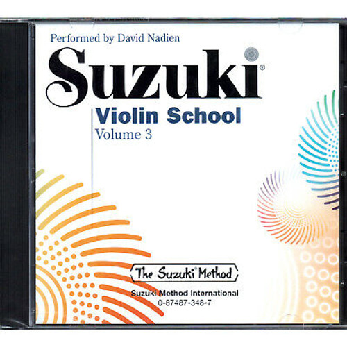 Suzuki Violin School Volume 3 CD Only