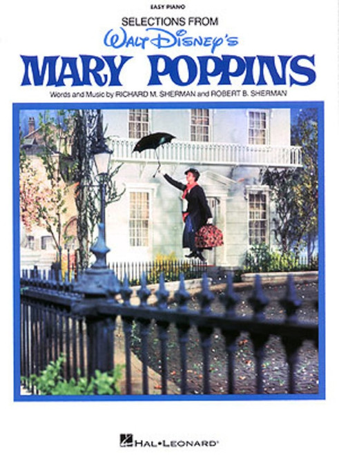 Selections from Disney's Mary Poppins for Easy Piano