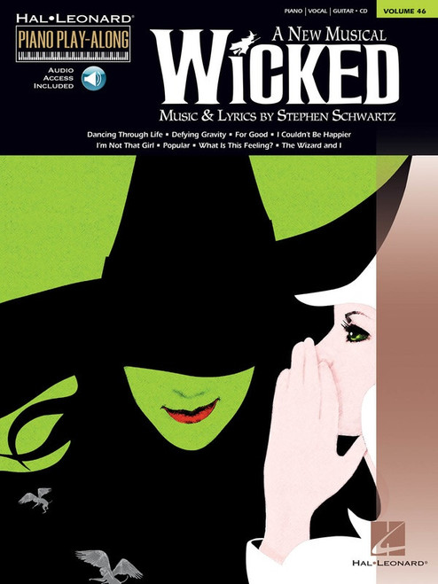 Wicked: A New Musical Piano/Vocal/Guitar for Piano Play-Along