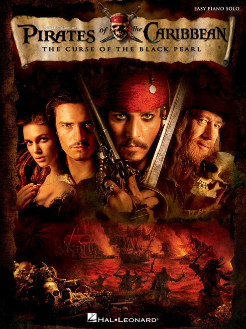 Pirates of the Caribbean Curse of the Black Pearl Easy Piano Solo