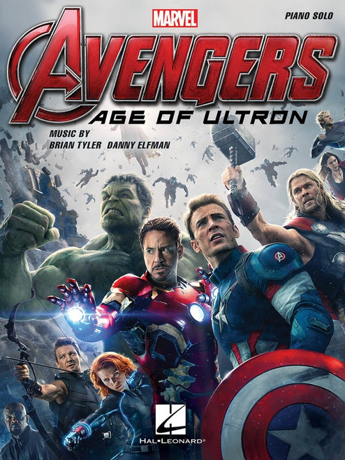 Avengers - Age of Ultron Piano Solo Songbook