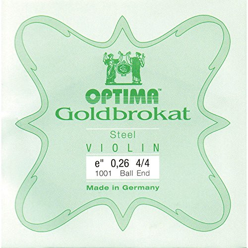 4/4 Optima (Lenzner) Goldbrokat (Ball End)