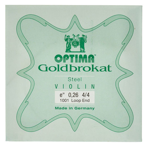 4/4 Optima (Lenzner) Goldbrokat (Loop End)
