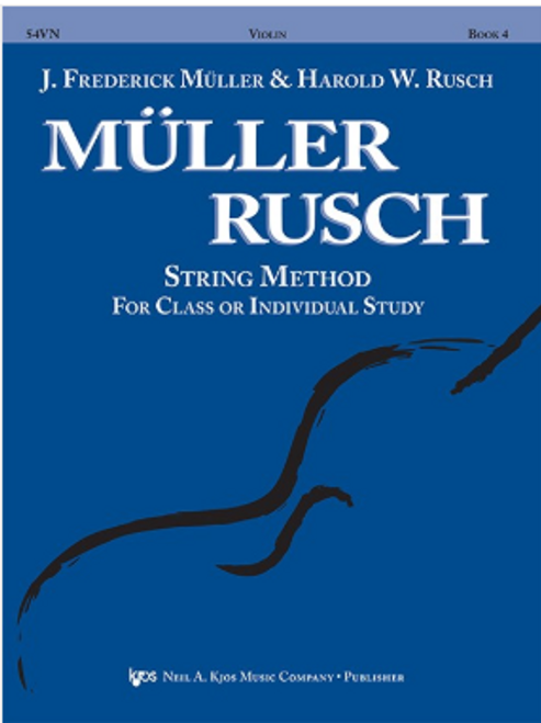 Muller-Rusch String Method Book 4 - Violin