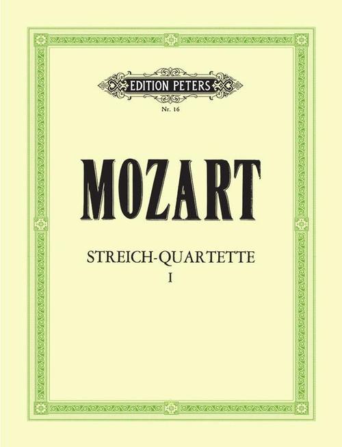 Mozart String Quartets Volume 1