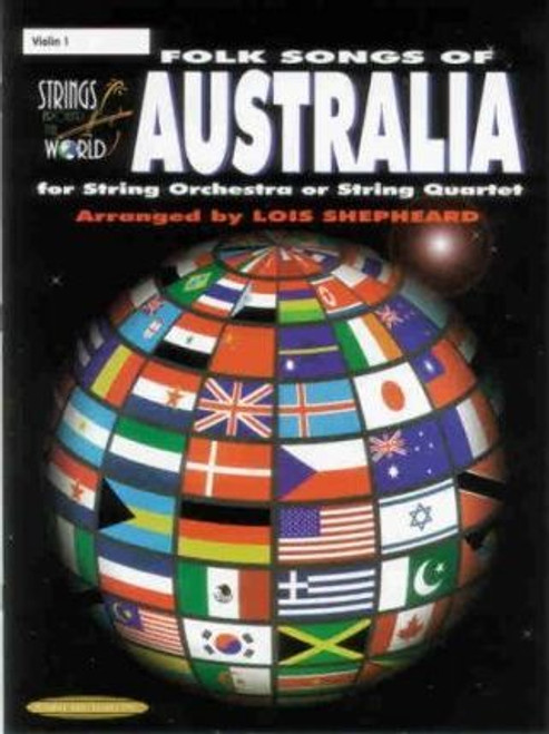 Folk Songs of Australia Violin 3 Part